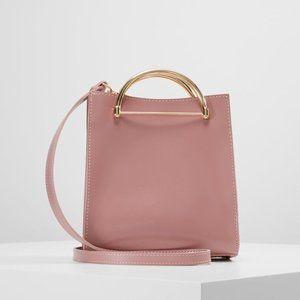 Topshop Lizzie Half Circle Handle Tote Bag
